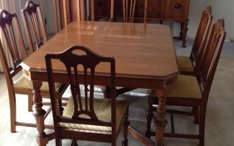 Table Dinette Wood Furniture