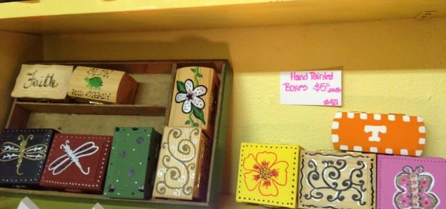 Hand Painted Decorative Box