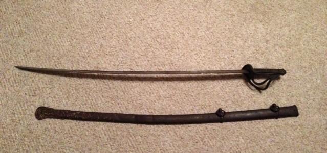 Civil war sword knife sabre