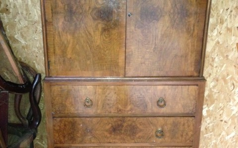 Europe Tall Chest Vintage