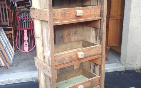 Hand crafted Shelf
