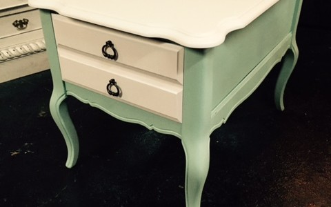 Bassett french provincial chalkpaint Dixie Belle Paint Company